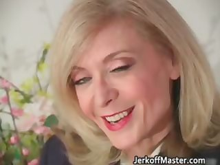 golden-haired d like to fuck nina stripping and