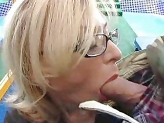 titty aged whore acquires wild ramrod in her cunt