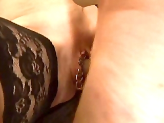 pirced milf fisted and anal booty wazoo