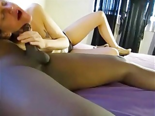 dieting hubby enjoys bbc creampie from wifes