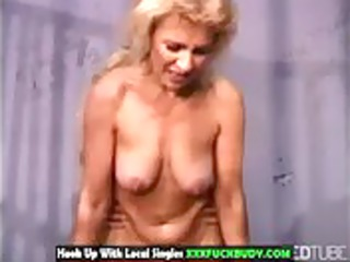 sexy aged sweetheart screwed in prison