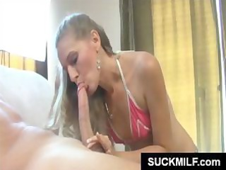 diminutive blond d like to fuck is eating this