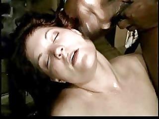 Skanky White Wife Fucks 2 BBC for Hubby - Cuckold