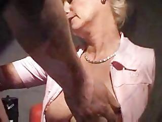 geman mommy fucks in porn theater