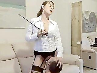hawt wife screwed in boots & nylons
