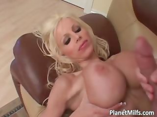 breasty blonde mother i bitch receives her