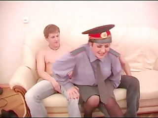 aged play police rol with lads