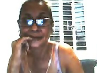 tess ganda - mature, but still very excited mama
