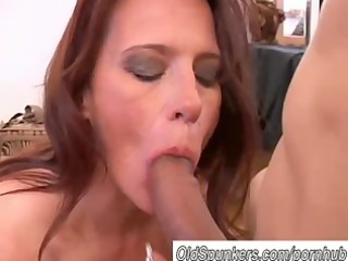 nice-looking older honey t live without to engulf