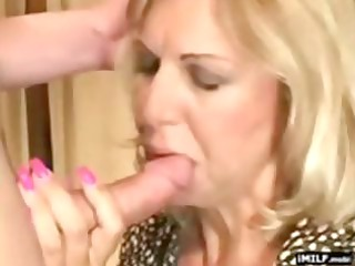 pretty golden-haired mother i drilled by a