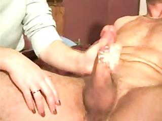 my wife giving tugjob
