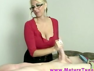golden-haired d like to fuck massages dong with