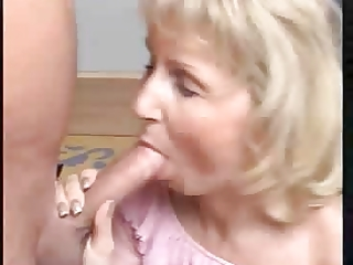 granny moni gives irrumation by rb