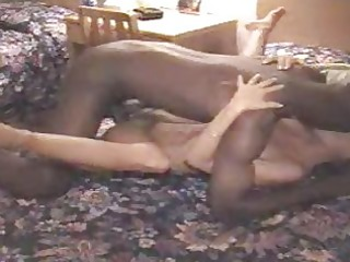 Cuckold wife takes a fat black cock!