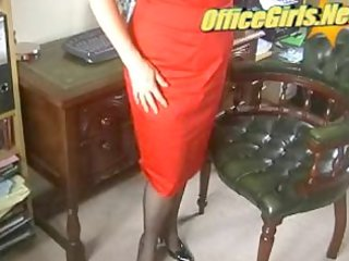 lustful mature mother i secretary in stockings