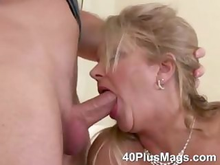 aged oral-service and snatch fucking skills