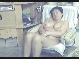 my mum home alone completely naked masturbating