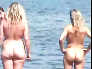 nudist beach perv 1 obese large wobblers d like