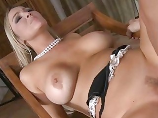 golden-haired slut wife receives ravaged by huge