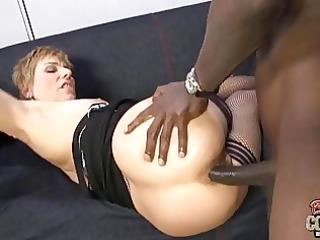 white mamma butt-fucked by bbc at ghetto