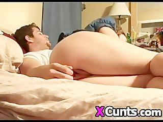 wife receives her pussy toyed whilst she is sucks