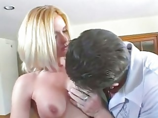 faith grant acquires a lift as she is rides huge