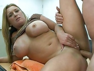 chunky golden-haired d like to fuck with massive