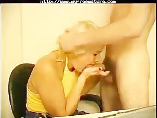 russian granny irina seduces juvenile employer