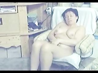 my mum home alone completely s garb masturbating