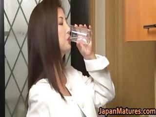 chisa kirishima older oriental lady shows part10