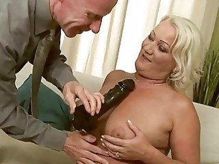 wicked granny getting anal drilled