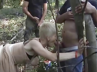 french sexually excited granny group-fucked