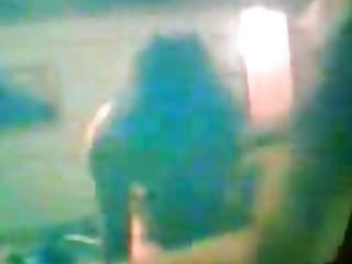 a real(!)spy web camera movie scene from mamma