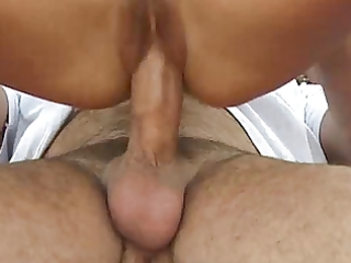 unshaved french mature anal screwed outdoor