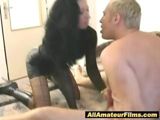 milf role playing with her husband