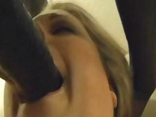 blond big beautiful woman wife going down on her