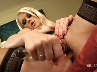 randy blond mother i in constricted darksome suit