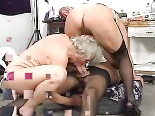 grannies can to swing with juvenile boys