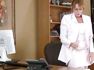 mature housewife kitchen office solo