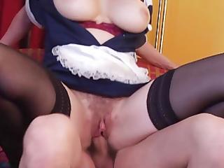 superhot hairy maid d like to fuck getting screwed