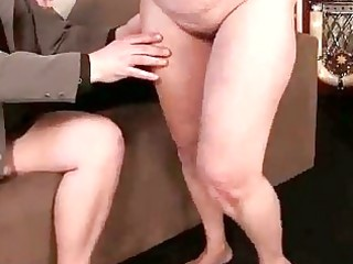 unsightly granny receives drilled pretty hard