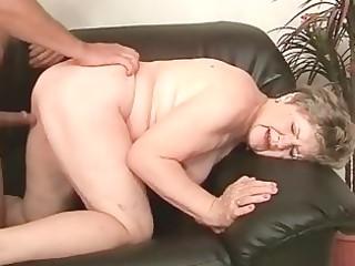 bulky grandma enjoying nasty sex