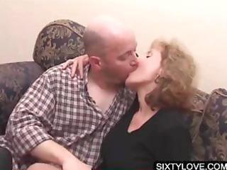 blond older acquires cunt teased