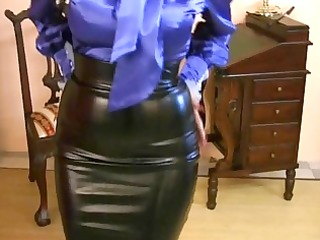 d like to fuck wearing taut satin skirt