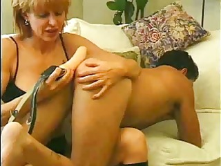 mum loves to play with a chaps backdoor