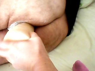 wife ding-dong large marital-device