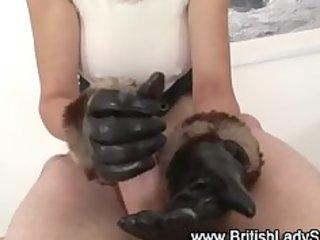 older british femdom cook jerking spunk flow