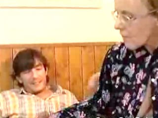 granny got her curly old a-hole anal fucked