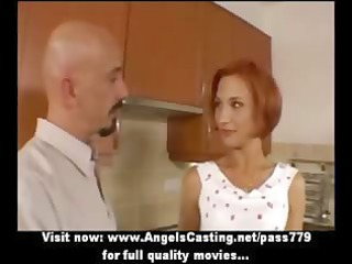 non-professional excellent redhead hawt wife