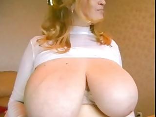 mom got boobs!